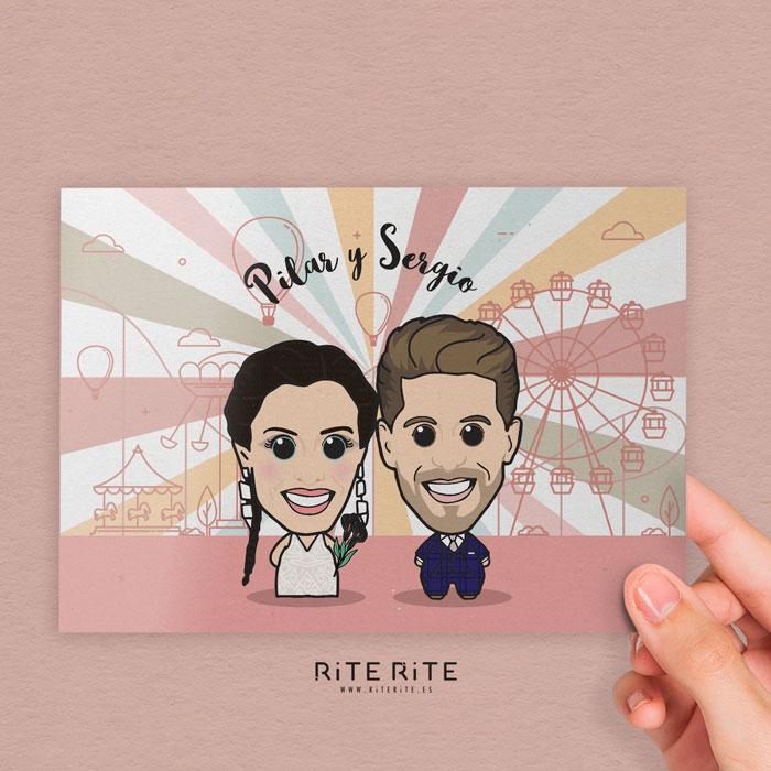 Invitaciones de boda divertidas y originales