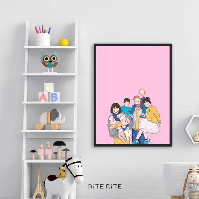 láminas familia